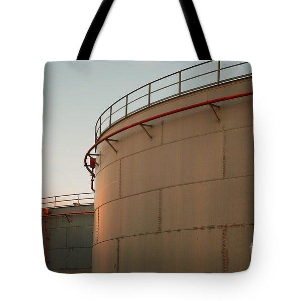 Fuel Tanks Tote Bag by Gaspar Avila