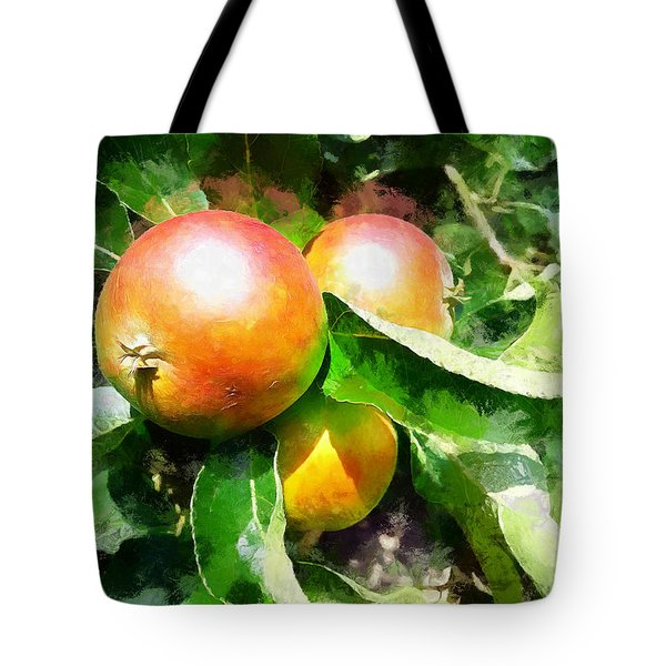 Fugly Manor Apples Tote Bag