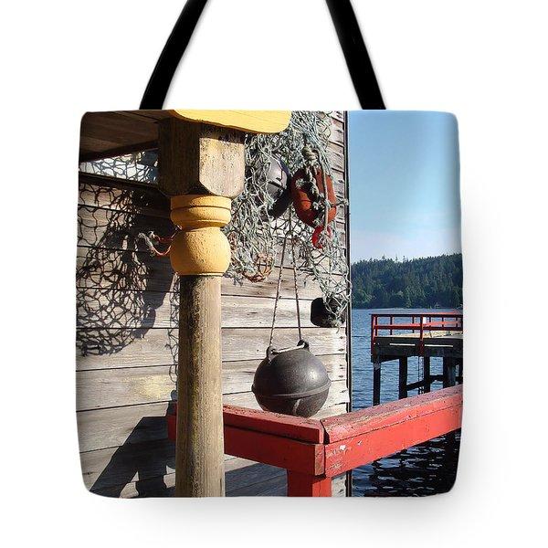 Fulford Harbour Tote Bag