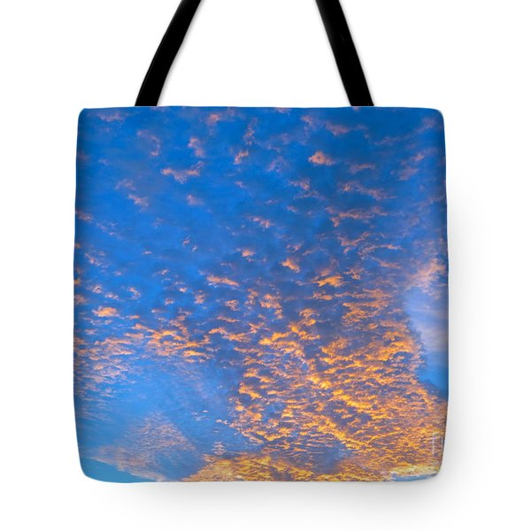 Fulgent Funneling Tote Bag by Joy Hardee