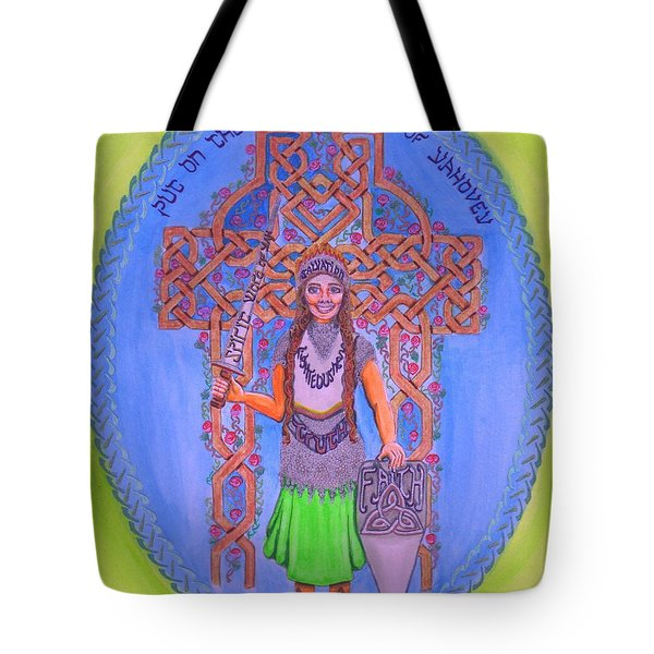 Full Armor Of Yhwh Woman Tote Bag
