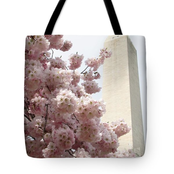 Full Bloom In Dc Tote Bag by Jennifer Wheatley Wolf
