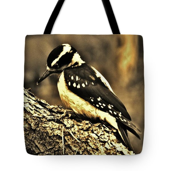 Tote Bag featuring the photograph Full-color Not Needed by VLee Watson