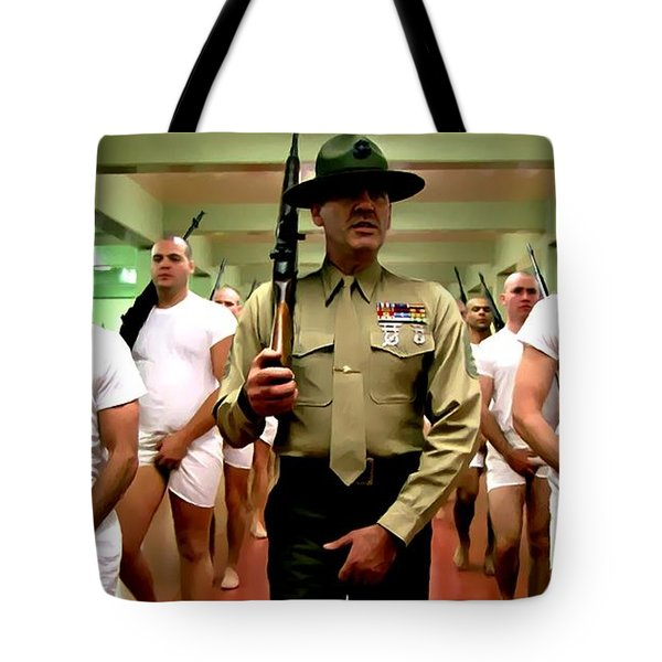 Full Metal Jacket 1 Stanley Kubrick 1979 Tote Bag