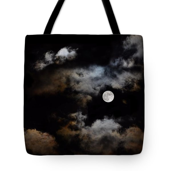 Full Moon After The Storm Tote Bag
