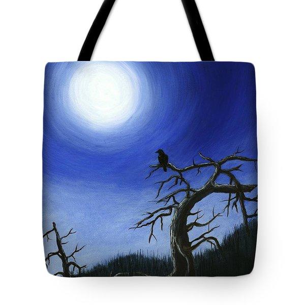 Full Moon Tote Bag by Anastasiya Malakhova