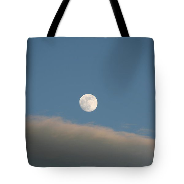 Tote Bag featuring the photograph Full Moon by David S Reynolds