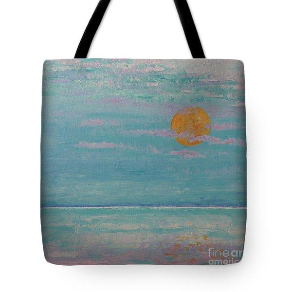 Full Moon In May Tote Bag