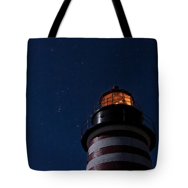 Full Moon On Quoddy Tote Bag