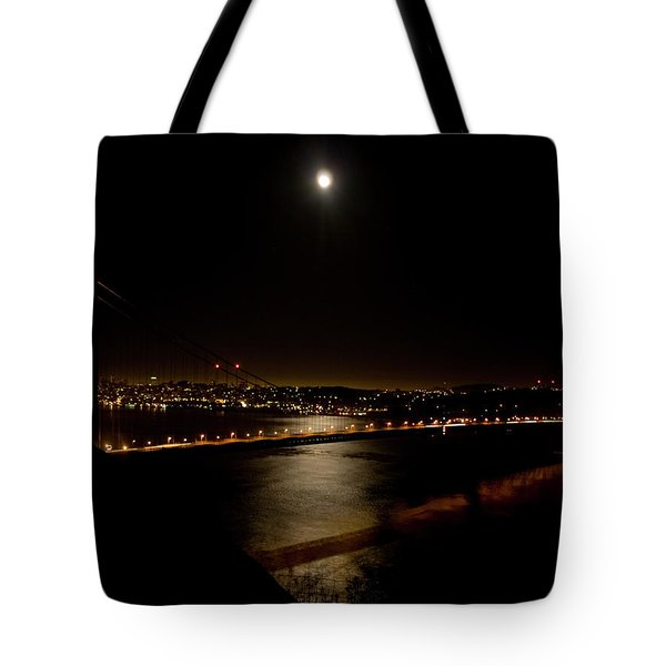 Full Moon Rising Tote Bag by Bill Gallagher