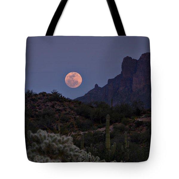 Full Moon Rising  Tote Bag