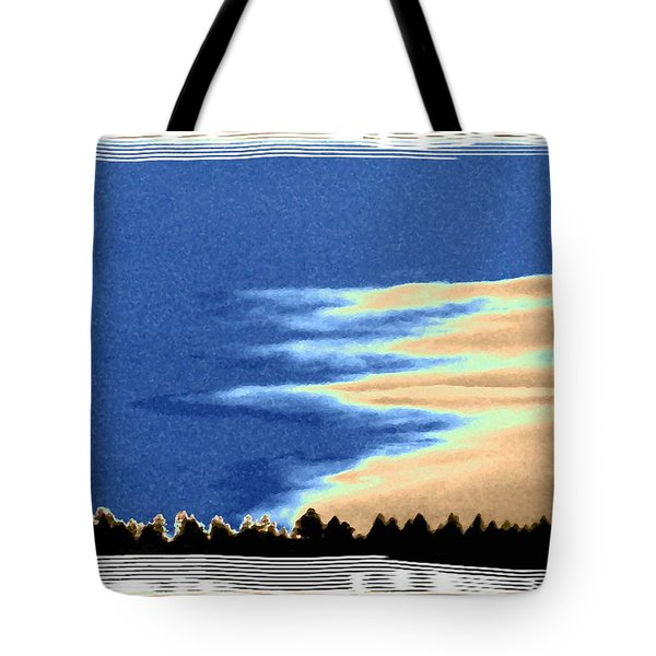 Full Moon Rising Tote Bag by Will Borden
