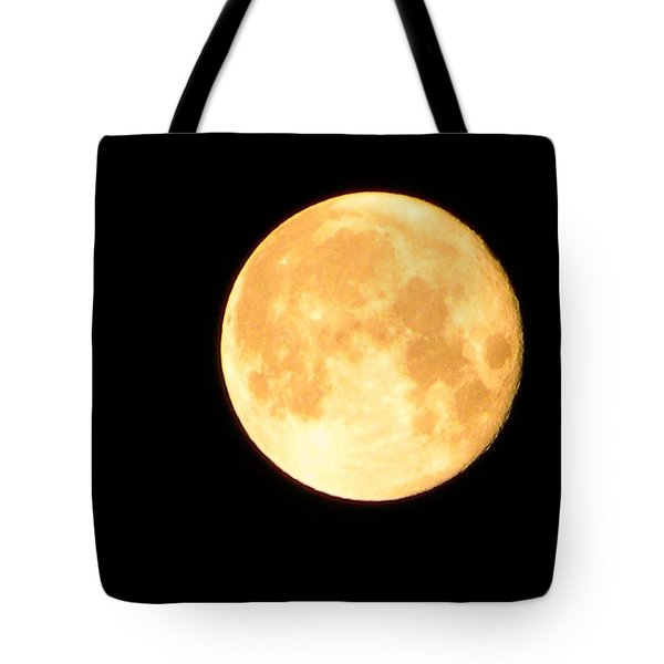 Full Moon Saturday Night Tote Bag