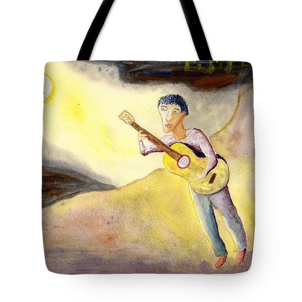 Full Moon Serenade  Tote Bag