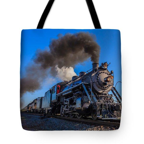 Full Steam Ahead Tote Bag