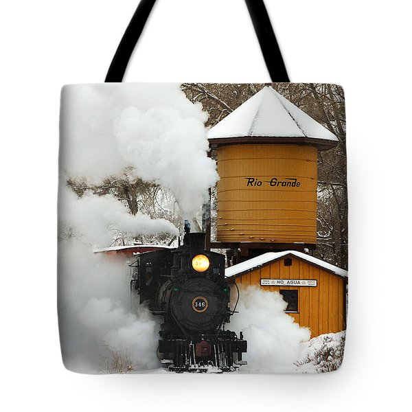 Full Steam Ahead Tote Bag by Ken Smith