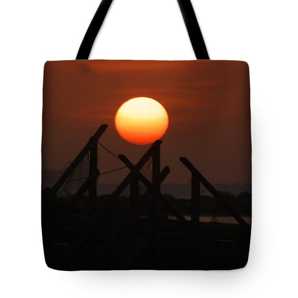 Tote Bag featuring the photograph Full Sun by Leticia Latocki