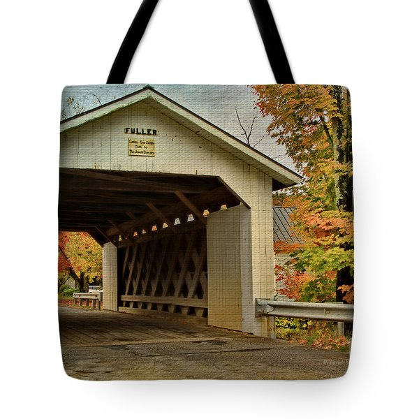 Fuller Lattice 1890 Tote Bag by Deborah Benoit