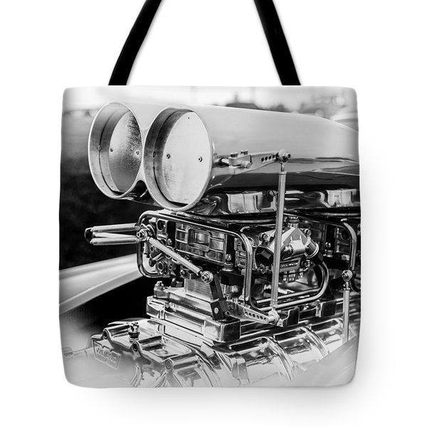 Fully Blown Tote Bag