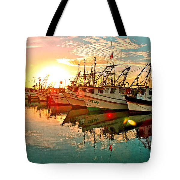 Fulton Harbor Tote Bag