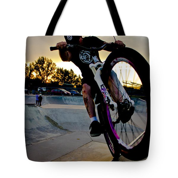 Tote Bag featuring the photograph Fumanchue by Joel Loftus