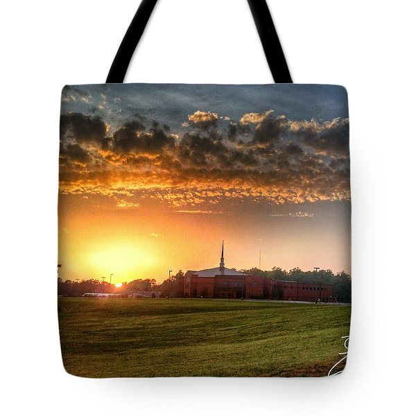 Fumc Sunset Tote Bag