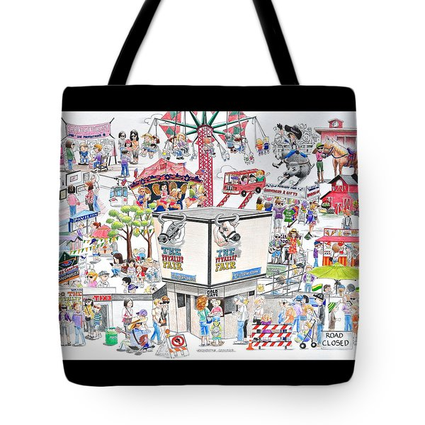 Fun Fair Tote Bag