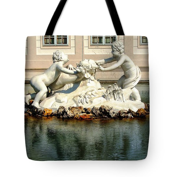 Tote Bag featuring the photograph Fun On The Water by Mariola Bitner