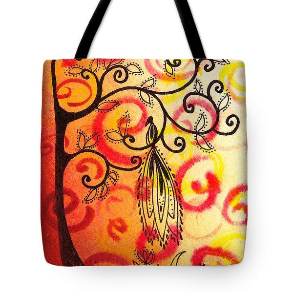 Fun Tree Of Life Impression II Tote Bag by Irina Sztukowski