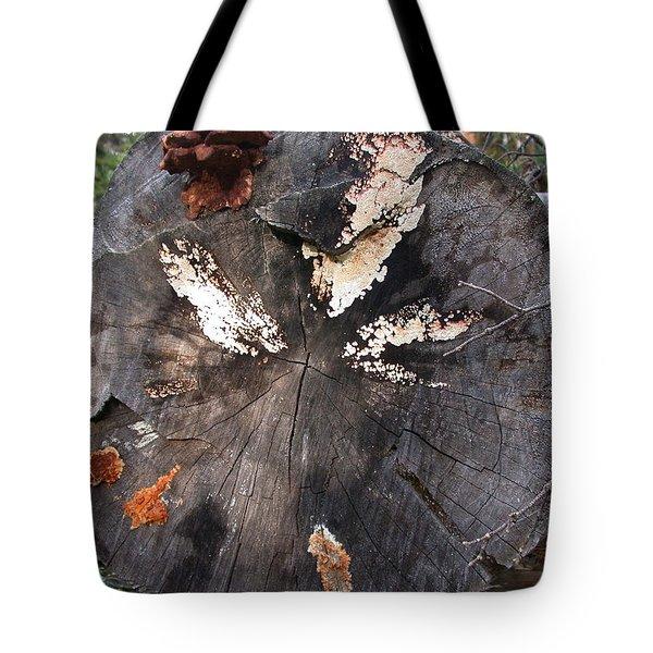 Fungus Painting Tote Bag