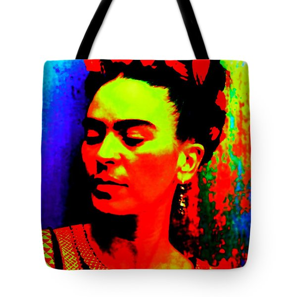Funky Frida Tote Bag