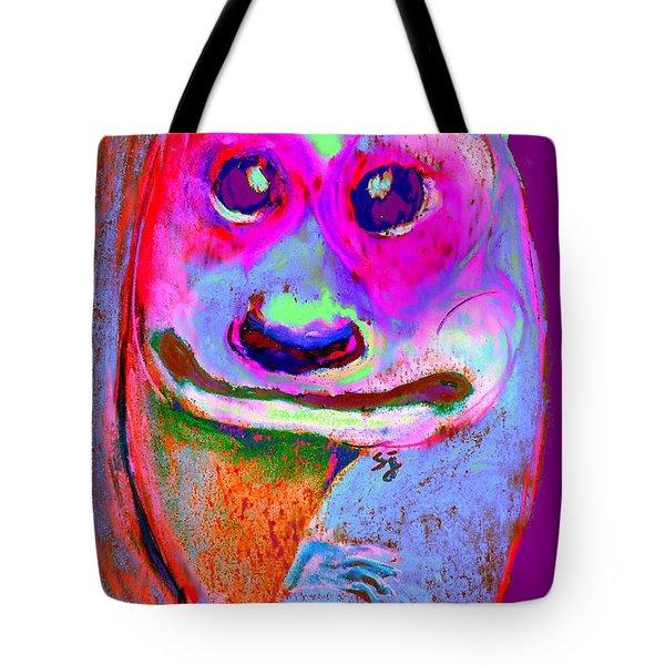Funky Meerkat Tunnel Art Print Tote Bag