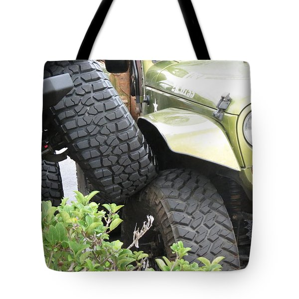 Funny Place To Park Tote Bag