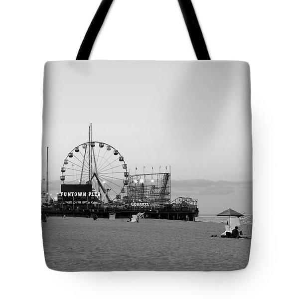 Funtown Pier - Jersey Shore Tote Bag