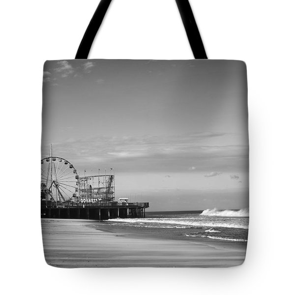 Funtown Pier Seaside Heights New Jersey  Tote Bag