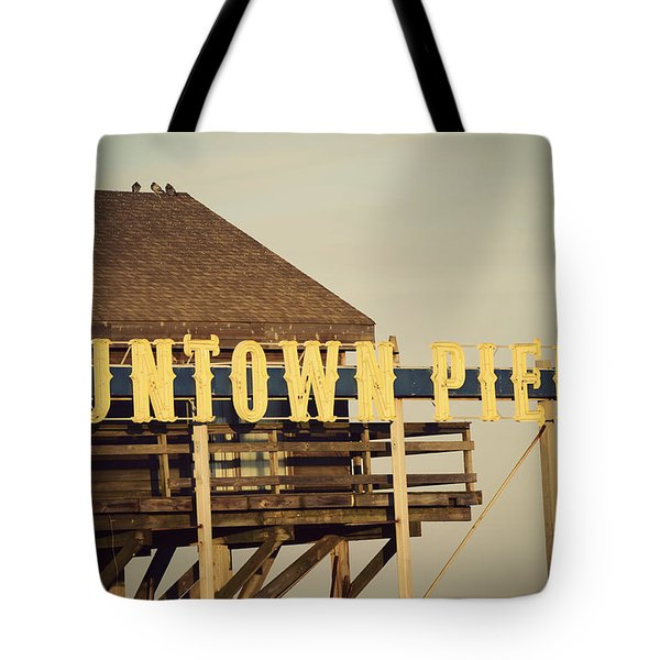 Funtown Vintage Tote Bag