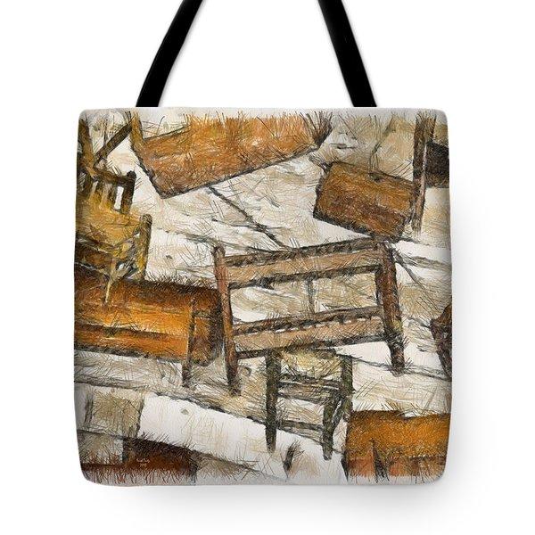 Furniture Tote Bag by Trish Tritz