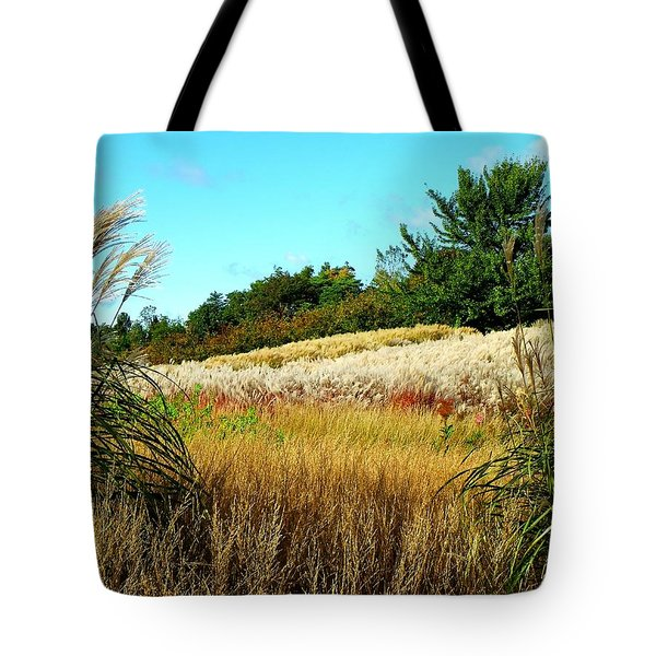 Furry Hill Tote Bag by Tim Fillingim