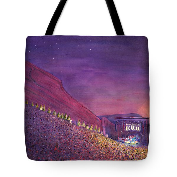 Furthur Red Rocks Equinox Tote Bag