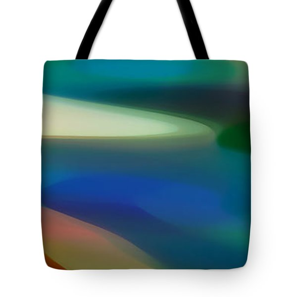 Fury Panoramic Vertical 3 Tote Bag by Amy Vangsgard