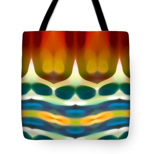 Fury Pattern 7 Tote Bag by Amy Vangsgard