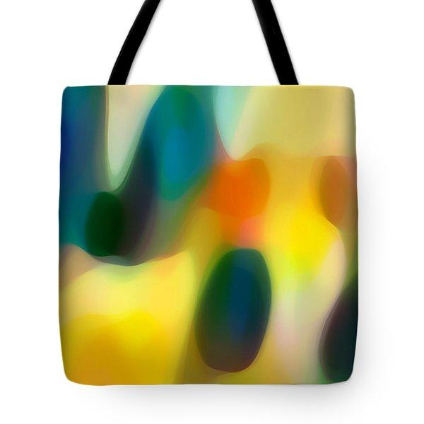 Fury Rain 2 Tote Bag by Amy Vangsgard