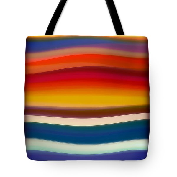 Fury Sea 8 Tote Bag by Amy Vangsgard