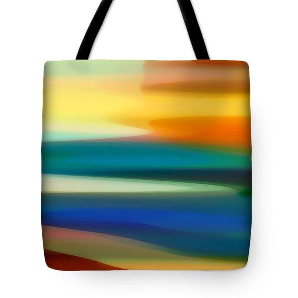 Fury Seascape II Tote Bag by Amy Vangsgard