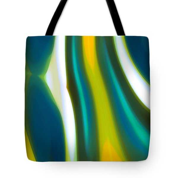 Abstract Tide 9 Tote Bag