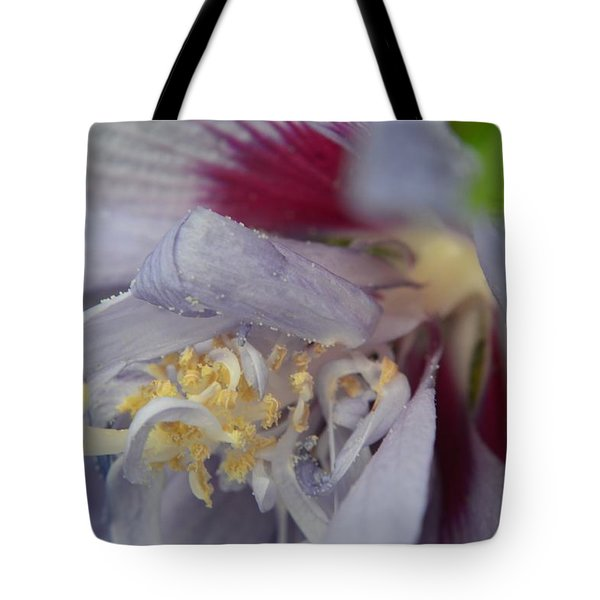 Fuscia Tote Bag