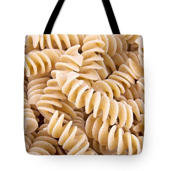 Fusilli Rotini Pasta  Tote Bag by Vizual Studio