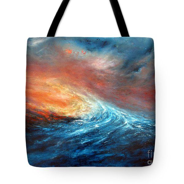 Fusion Tote Bag by Valerie Travers