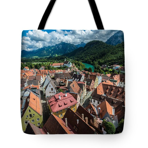 Fussen - Bavaria - Germany Tote Bag by Gary Whitton