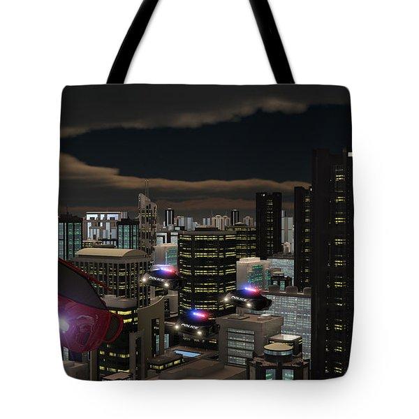 Futura 2051 Tote Bag